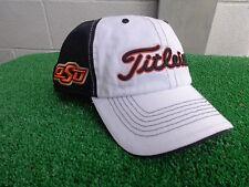 b9b77369a69 Titleist Oklahoma State Cowboys Golf Hat Cap OSU 2 Panel White Front NEW  Pokes