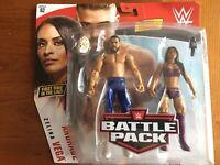 WWE Mattel Andrade Cien Almas Battle Pack Series 62 figure loose