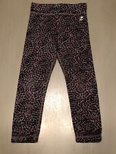 Energy Zone Girls Pants 3t Black with Colorful Dots Stretchy Soft Leggings Kids