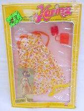 Busch KARINA City Chic FLOWER DRESS Outfit Historic Doll Clothing SET MOC`70!