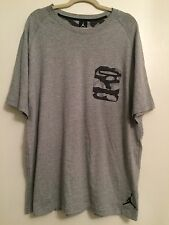 Nike Air Jordan Men's Jumpman Camo Pocket Gray T-Shirt size 2Xl