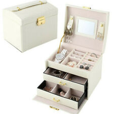 [JB] Portable Professional Cosmetic Case Beauty Cosmetic Case Jewelry Box Travel