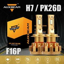 AUXBEAM 70W H7 LED Headlight Super Bright Hi/Low Beam Bulb HID 7000lm 6000K F16P