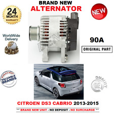 FOR CITROEN DS3 CABRIOLET 1.2 VTi 82 THP 110 2013-2015 BRAND NEW 90A ALTERNATOR