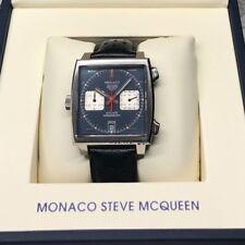 TAG Heuer Monaco Chronograph caw211b.fc6241  warranty MCQueen