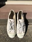 Vintage Jack Purcell Converse MADE IN USA Cream Canvas Sz 10