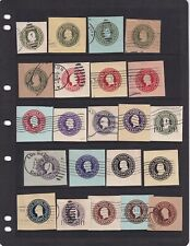 United States Used Stamped Envelope Stamps 1915-1932