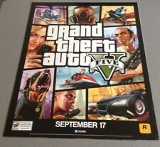 Grand Theft Auto V Two Sided Poster Michael New Gta V Gta 5