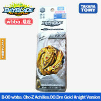 Takara Tomy Beyblade Burst B-00 wbba. Cho-Z Achilles.00.Dm Gold Knight Version