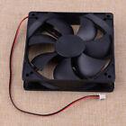 120x25mm 2Pin Dual Ball 93CFM PC Computer Case Cooling Fan High Speed 3000RPM