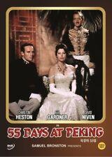 55 Days At Peking ,1963 (DVD,All,Sealed,New) Charlton Heston