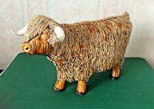 Scottish /ceramic  Highland Cow