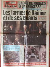 ICI Paris N° 1942 (22-28/9/1982) L'adieu de Monaco à sa Princesse -
