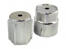 Chrome - 134A - Service Caps Olds Buick Cadillac Chevy A/C Air Condition-NEW-20C