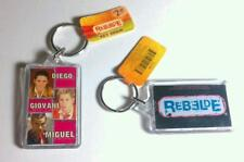 REBELDE Blk 2 Sided Photo Diego Giovanni Miguel Acrylic Keychain Offic Lic As-Is