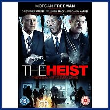THE HEIST -Morgan Freeman & Christopher Walken  **BRAND NEW DVD ***