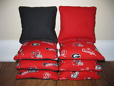 Georgia Bulldogs Cornhole Bags, Baggo, Bag Toss, Corn Toss, Corn Hole, Ncaa