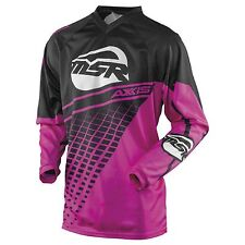 NOS MSR 352723 M16 AXXIS JERSEY BLACK PINK SIZE WOMENS X-LARGE