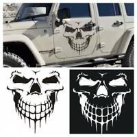 "Hood Decal Vinyl Sticker Skull Car Auto Tailgate Window Reflective Truck SUV 16"""
