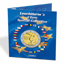 Leuchtturm münzalbum presso, euro-Collection para 57x 2-euro-monedas - 302574