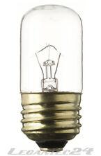 Glühlampe 24V 15W E27 27x60mm Glühbirne Lampe Birne 24Volt 15Watt neu