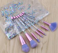 Fashion 7pcs Pro Crystal Makeup Brushes Kit Cosmetic Eyeshadow Powder Foundation