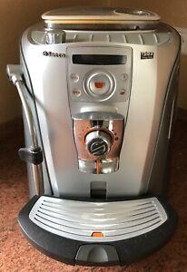 Saeco Talea Ring Plus Kaffeevollautomat Farbe silber, mit Orginalverpackung