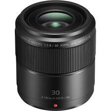 New Panasonic LUMIX G MACRO 30mm f/2.8 ASPH. MEGA O.I.S. Lens [ H-HS030 ]