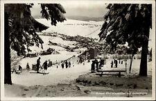 Oberwiesenthal Sachsen Erzgebirge 1942 Sudetengau Wintersport Ski Winter Schnee