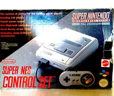 Super Nintendo SNES Original Console Boxed With Power Supply And Controller PAL