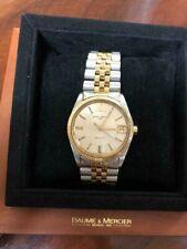 Luxury watch Baume & Mercier datejust Baumatic da uomo microrotor oro acciaio