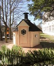 4,5m² Grillkota & Grillanlage Pavillon Gartenhaus Grillhütte Kota Grillhaus Holz