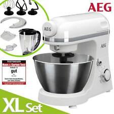 AEG Küchenmaschine Knetmaschine Rührmaschine Teigmaschine SET + 1,5L Mixer WOW