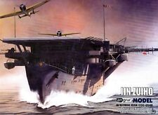 1:200 Japanese Wwii aircraft carrier Zuiho paper model