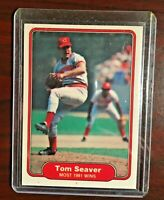 1982 FLEER TOM SEAVER CINCINNATI REDS CARD # 645 HOF