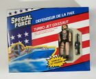 NEW 1989 Remco Special Force Turbo Assault Jet 3 3/4 Action Figure US Forces