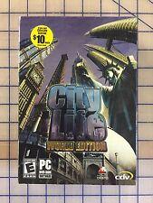 CITY LIFE WORLD EDITION PC CDROM * BRAND NEW ORIGINAL FACTORY SEALED - RARE! *