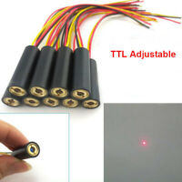 ClassIII 635nm 1mw~30mw Red Laser Point Module TTL Modulation 0-50KHZ 10* 30mm