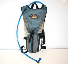 Camelbak Rogue Blue/Gray Hydration Water Pack Backpack Running Biking - CLEAN