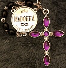 NEW LIMITED EDITION MADONNA LIKE A PRAYER 30th ANNIVERSARY ROSARY OFFICIAL PROMO