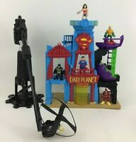 Imaginext Flight Daily Planet City Flyer Friends Fisher Price Dc Super 2015