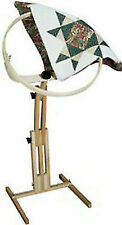 FA Edmunds 18\ round Quilt Hoop with Adjustable Floor Stand