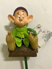 Disney Dopey Snow White & Seven Dwarfs Pot Stakes Garden Ornament