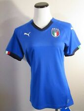 NWT PUMA Italy Womens 2018 World Cup Home Jersey M Team Power Blue MSRP$75