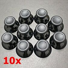 (10Pcs) Xbox 360 Controller Black Replacement Analogue Thumb Sticks
