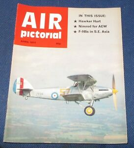 AIR PICTORIAL APRIL 1977 - HAWKER HART/NIMROD FOR AEW/F-105S IN S.E. ASIA