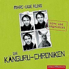 Die Känguru-Chroniken: 4 CDs: Live und ungekürzt von Kli... | Buch | Zustand gut
