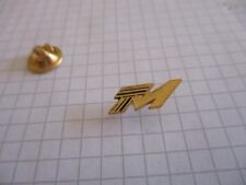 METRO METROPOLITAN TRANSPORT METROPOLITAIN PARIS GOLD COLOR VINTAGE PIN us1/2