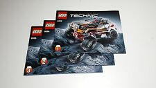Lego TECHNIC 9398 Instructions (1-3 ) 4x4 Crawler-NEW
