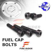 FRW Black Fuel Cap Bolts Set For Yamaha YZF R1 99-14 00 01 02 03 04 05 06 07 08